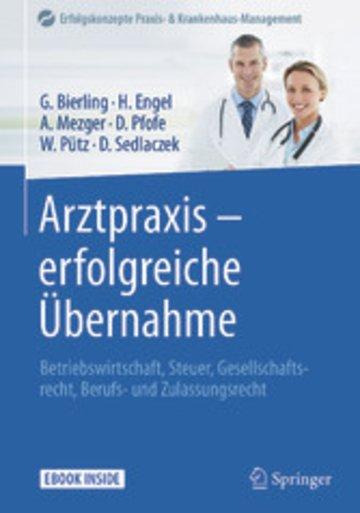 eBook Arztpraxis - erfolgreiche Übernahme Cover