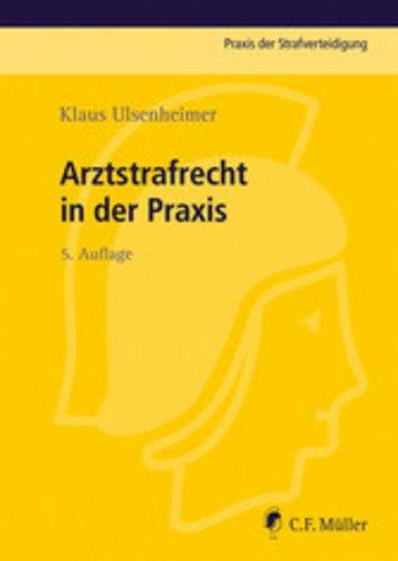 eBook Arztstrafrecht in der Praxis Cover