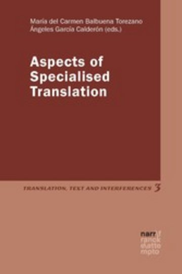 eBook Aspects of Specialised Translation Cover