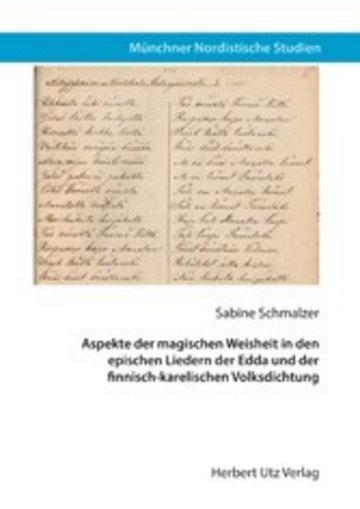 eBook Aspekte der magischen Weisheit in den epischen Liedern der Edda und der finnisch-karelischen Volksdichtung Cover