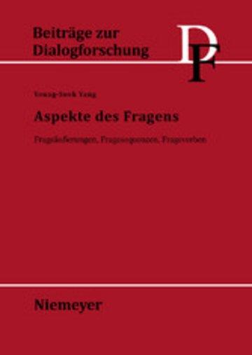 eBook Aspekte des Fragens Cover