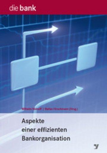 eBook Aspekte einer effizienten Bankorganisation Cover