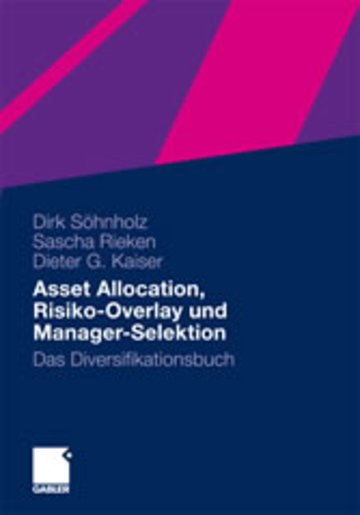 eBook Asset Allocation, Risiko-Overlay und Manager-Selektion Cover