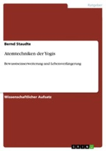 eBook Atemtechniken der Yogis Cover