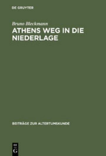 eBook Athens Weg in die Niederlage Cover