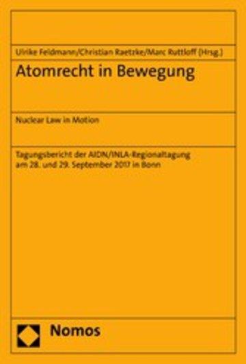 eBook Atomrecht in Bewegung Cover