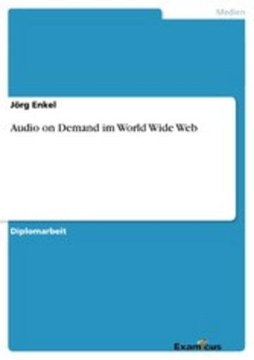 eBook Audio on Demand im World Wide Web Cover