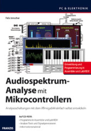 eBook Audiospektrum-Analyse mit Mikrocontrollern Cover