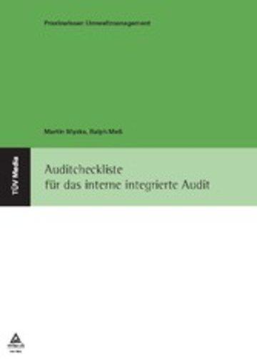 eBook Auditcheckliste für das interne integrierte Audit Cover