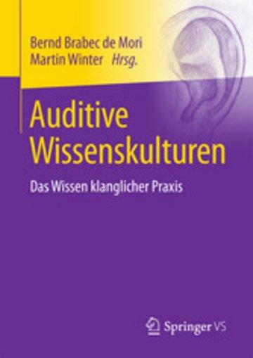 eBook Auditive Wissenskulturen Cover