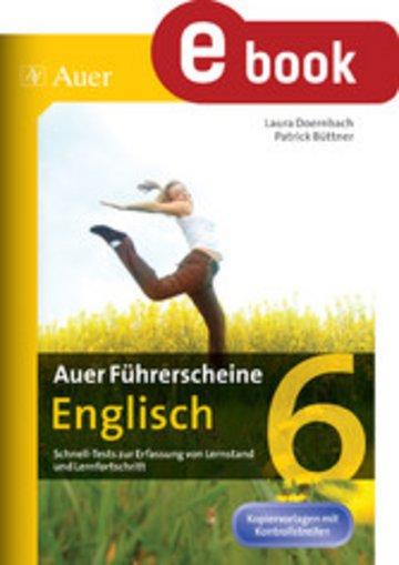 eBook Auer Führerscheine Englisch Klasse 6 Cover