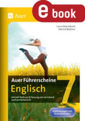 eBook Auer Führerscheine Englisch Klasse 7 Cover