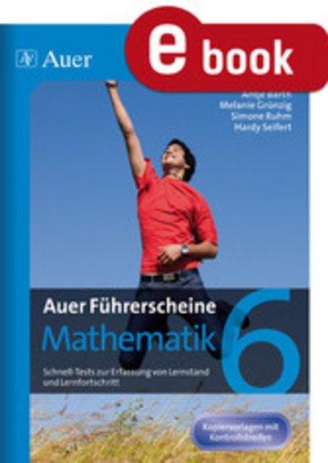 eBook Auer Führerscheine Mathematik Klasse 6 Cover