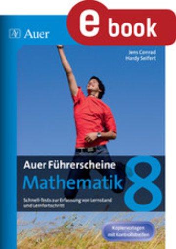 eBook Auer Führerscheine Mathematik Klasse 8 Cover