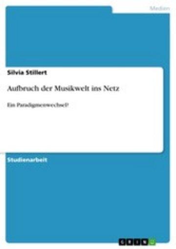 eBook Aufbruch der Musikwelt ins Netz Cover