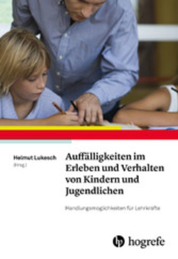 eBook Auffälligkeiten im Erleben und Verhalten von Kindern und Jugendlichen Cover