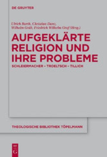 eBook Aufgeklärte Religion und ihre Probleme Cover