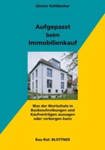 eBook Aufgepasst beim Immobilienkauf Cover