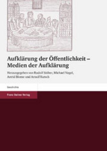 eBook Aufklärung der Öffentlichkeit - Medien der Aufklärung Cover