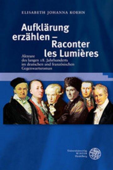 eBook Aufklärung erzählen - Raconter les Lumières Cover