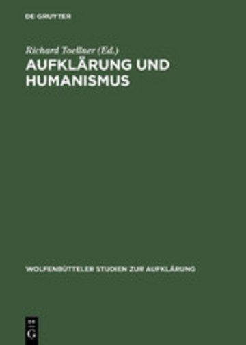 eBook Aufklärung und Humanismus Cover
