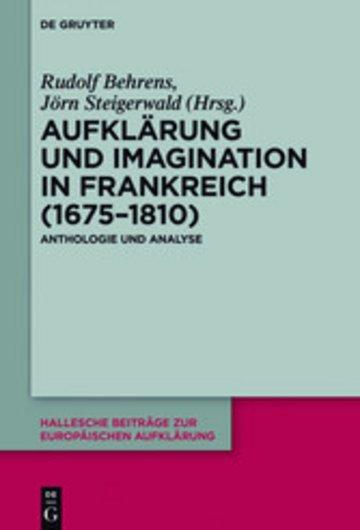 eBook Aufklärung und Imagination in Frankreich (1675-1810) Cover