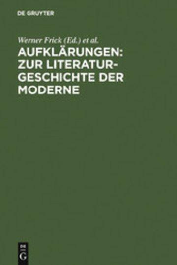 eBook Aufklärungen: Zur Literaturgeschichte der Moderne Cover