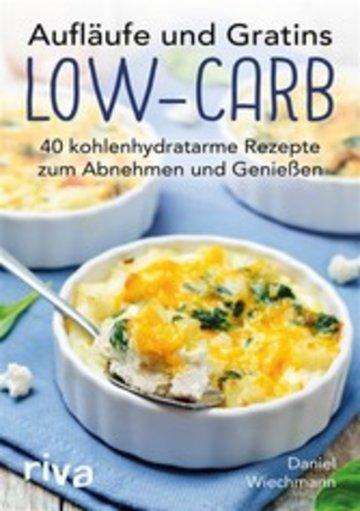 eBook Aufläufe und Gratins Low-Carb Cover