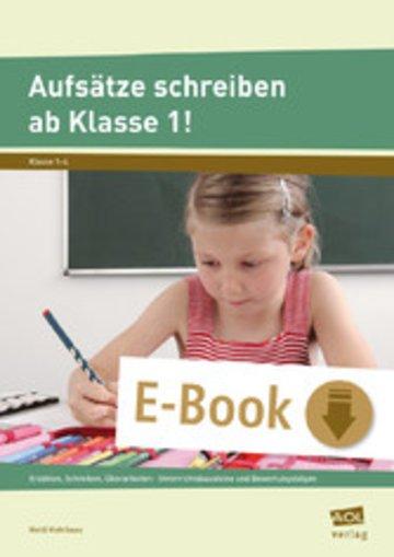 eBook Aufsätze schreiben ab Klasse 1! Cover
