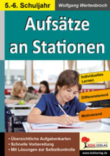 eBook Aufsätze an Stationen 5/6 Cover