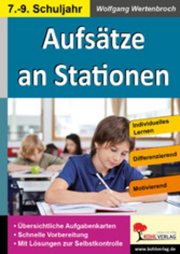 eBook Aufsätze an Stationen 7-9 Cover