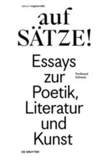 eBook aufSÄTZE! Cover