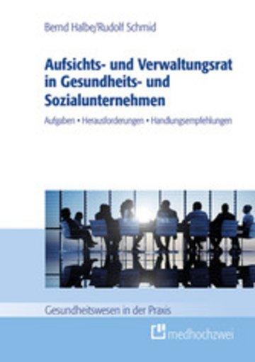 eBook Aufsichts- und Verwaltungsrat in Gesundheits- und Sozialunternehmen Cover