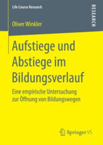 eBook Aufstiege und Abstiege im Bildungsverlauf Cover