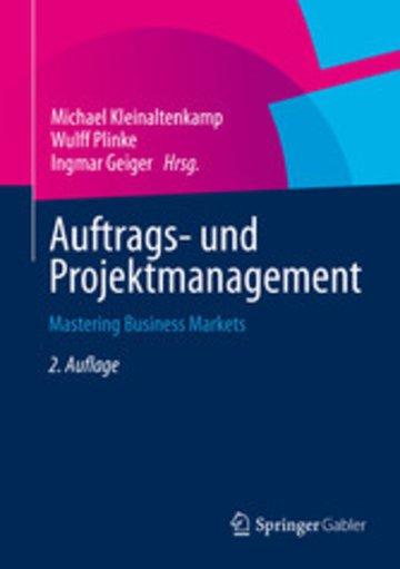eBook Auftrags- und Projektmanagement Cover