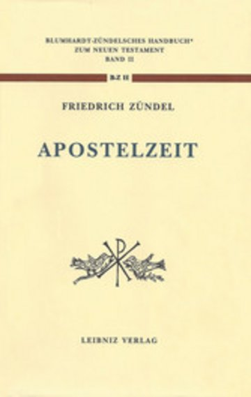 eBook Aus der Apostelzeit Cover