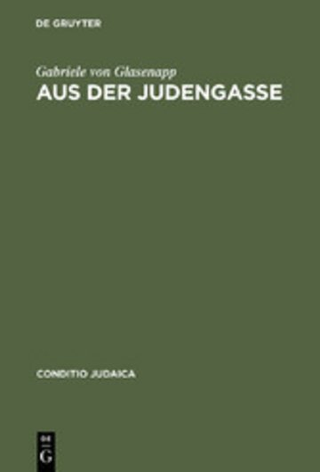 eBook Aus der Judengasse Cover