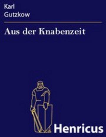 eBook Aus der Knabenzeit Cover