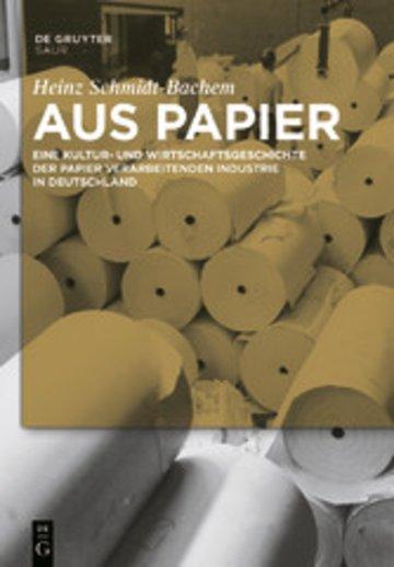 eBook Aus Papier Cover