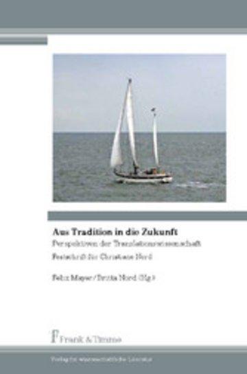 eBook Aus Tradition in die Zukunft Cover