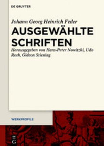 eBook Ausgewählte Schriften Cover