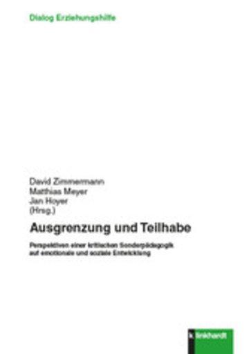 eBook Ausgrenzung und Teilhabe Cover