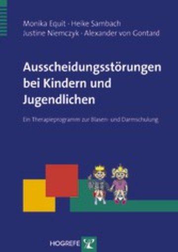 eBook Ausscheidungsstörungen bei Kindern und Jugendlichen Cover
