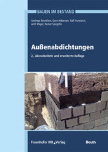 eBook Außenabdichtungen. Cover