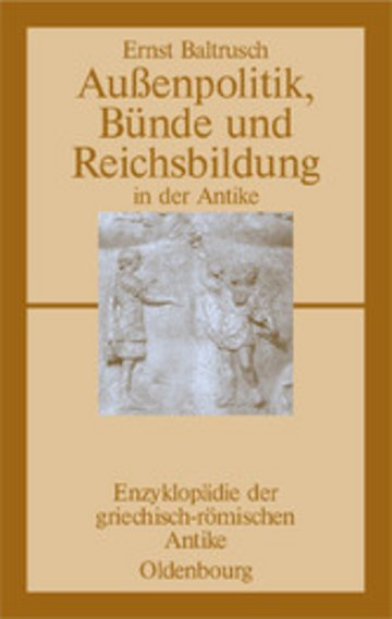 eBook Außenpolitik, Bünde und Reichsbildung in der Antike Cover