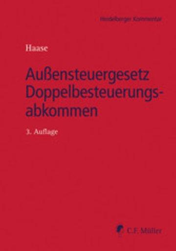eBook Außensteuergesetz Doppelbesteuerungsabkommen Cover
