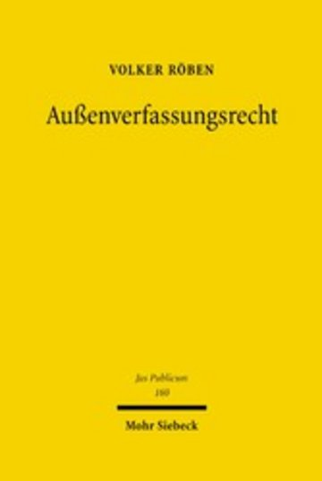 eBook Außenverfassungsrecht Cover