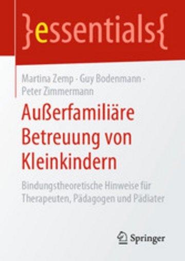 eBook Außerfamiliäre Betreuung von Kleinkindern Cover