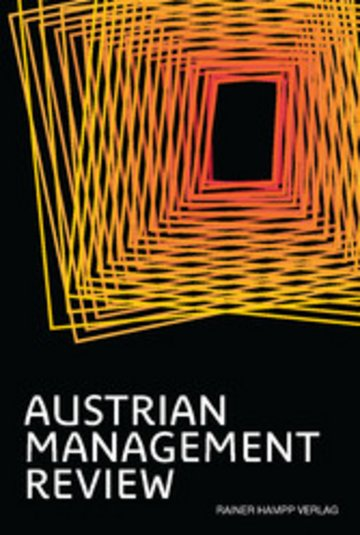 eBook AUSTRIAN MANAGEMENT REVIEW, Volume 2 Cover