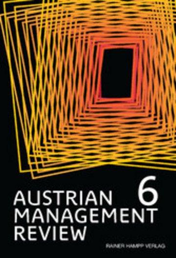 eBook AUSTRIAN MANAGEMENT REVIEW, Volume 6 Cover